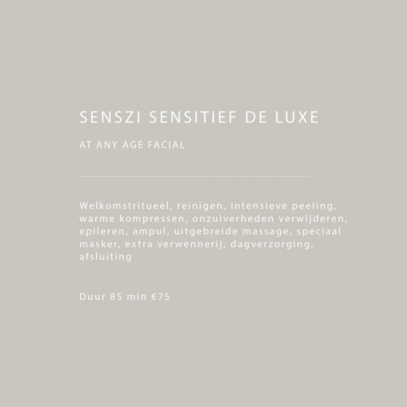 Sensitief de luxe 2